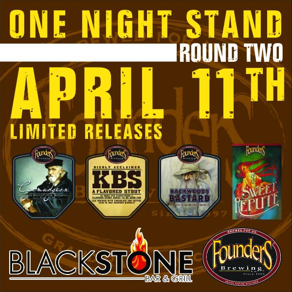 Founders One Night STand Rd 2