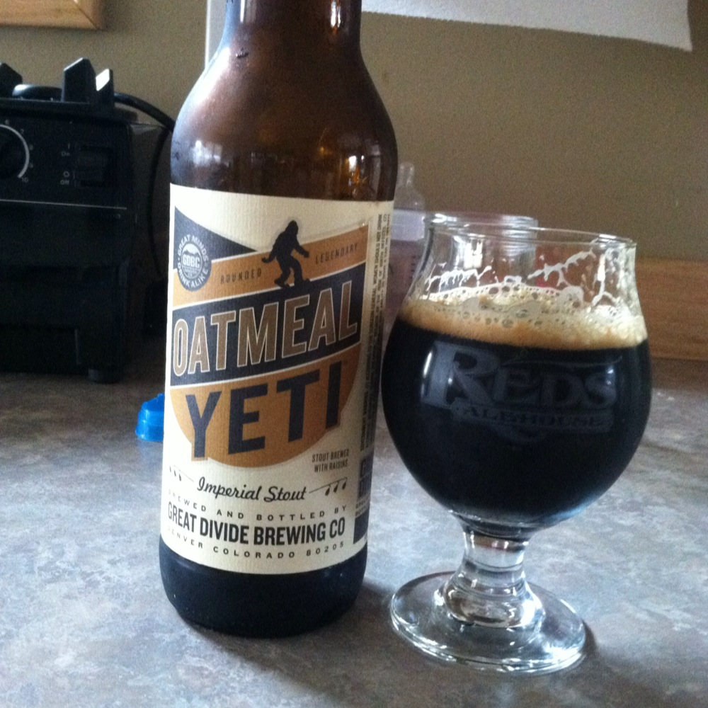 Beer Review 119 Great Divide Oatmeal Yeti
