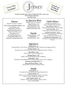 jitney menu 1