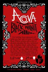 Acova Black Walnut Ale Card