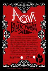 Acova Black Walnut Ale Card